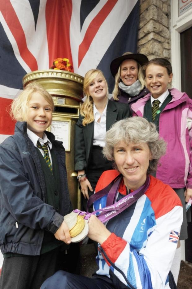 Trull golden girl puts village on the map