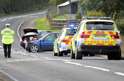 A358 crash near Sampford Brett causes chaos. PHOTO: Steve Guscott