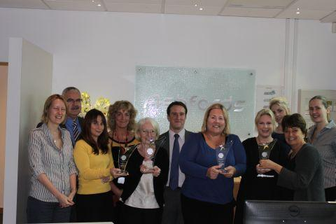 Staff from Ashfords Conveyancing team win award