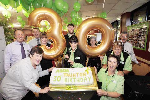 Big 30 for Asda Taunton