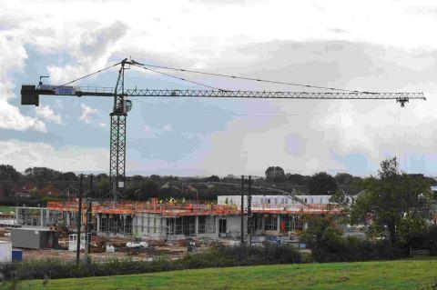 Bower Lane hospital making healthy progress
