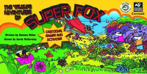 The book cover of The Wildlife Adventures of Super Fox by Sarah McCartney
