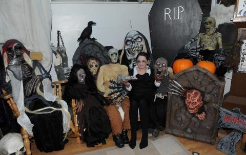 Hallowe'en with a Florida twist at spooky Taunton home