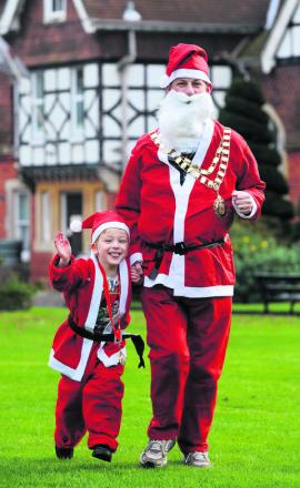 Santas needed for Vivary Park charity fun run