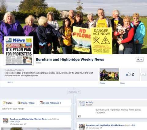 New Facebook page for the Weekly News!