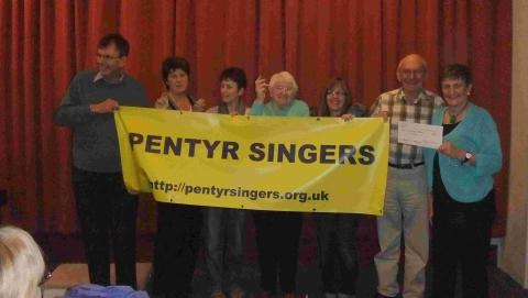 Helston choir raise their voices in song for charity