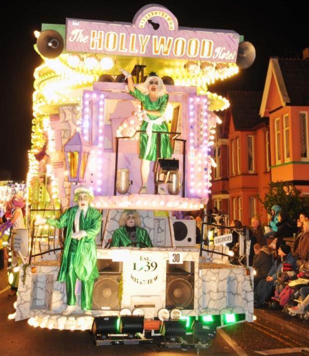 This is The West Country: Burnham's own Hill View CC at 2012's carnival