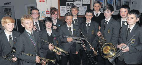 This is The West Country: PUPILS from Castle School competed in the solo brass aged 12 and under category.
