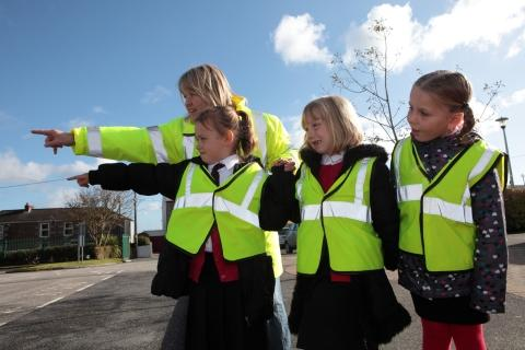 Project helps pupils learn road safety