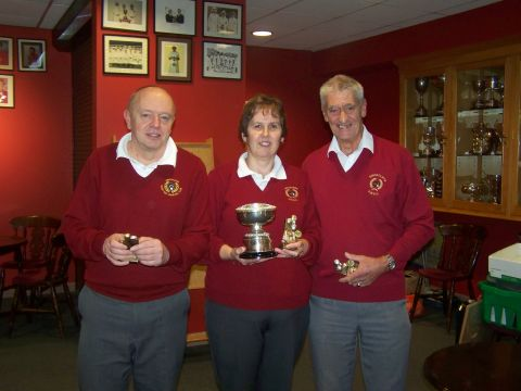 Kingcliffe success at county charity cup