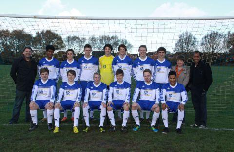 This is The West Country: Burnham United Under 18s show off new kit