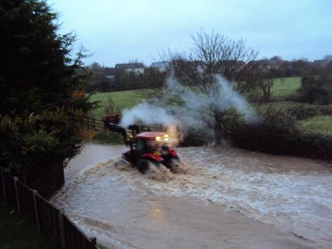 Flooding in Somerset, November 2012