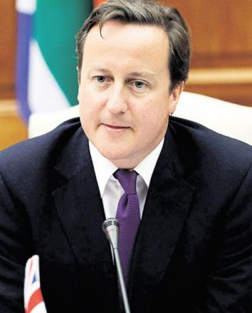 David Cameron visits Devon flood victims