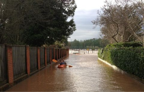 vivary park flood
