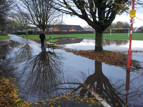 This is The West Country: victoria park flooding