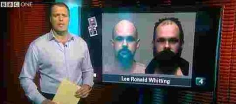 Lee Whitting featured on Crimewatch.