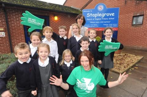 Salad fundraiser at Staplegrove Primary School
