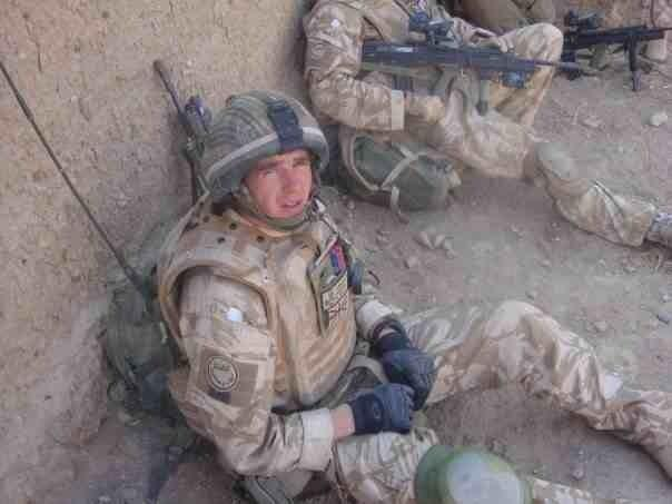 Hero Ash kelly during the 3 Rifles tour of Afghanistan