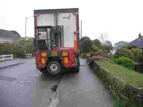 This is The West Country: Lane 'plagued' by lorries and reckless drivers