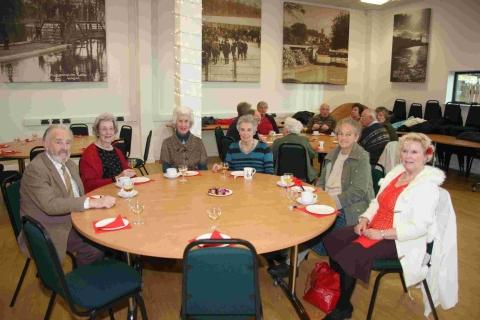 Helston senior citizens' Christmas party