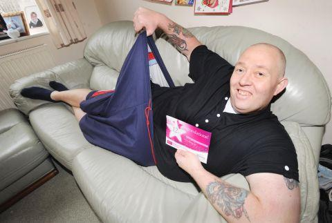 This is The West Country: Paul Palmer lost a third of his body weight in less than a year