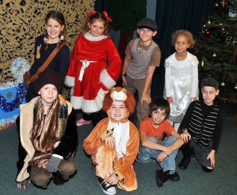 The magic of Narnia at Hamp Junior School
