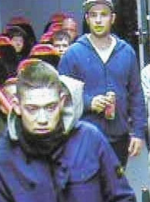 Police want to trace these men in connection with the incident. Photo BTP