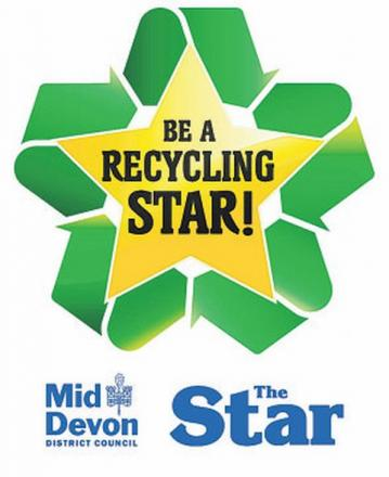 Be A Recycling Star in 2013 - Mid Devon Council call