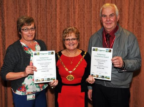 Loyalty rewarded at Sedgemoor District Council