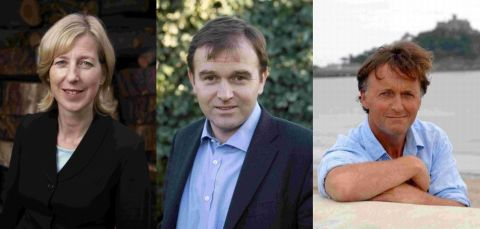MPs Sarah Newton, George Eustice and Andrew George