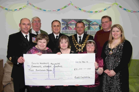 Helston comes together to support adults with learning difficulties