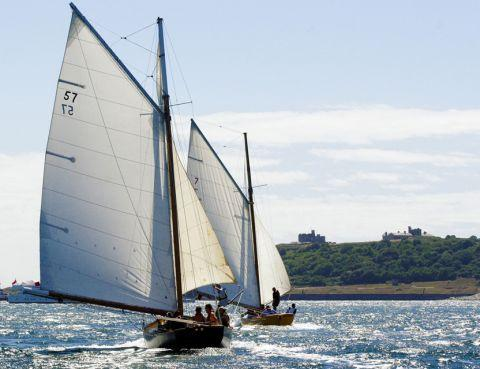 Free berthing plan for Falmouth Classics needs funding