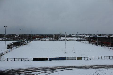 Snow brings rugby fixtures to a standstill