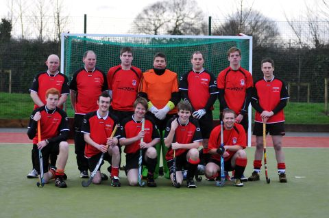 Bridgwater Hockey Men's second team line-up