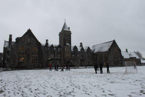 Taunton School in the snow. January 23, 2013
