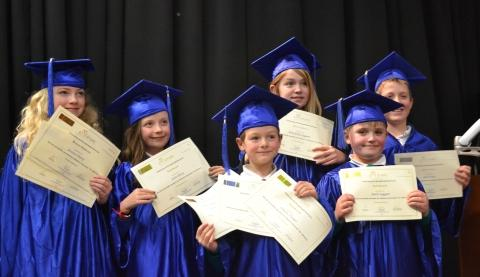 Pupils graduate from 'Children's University'