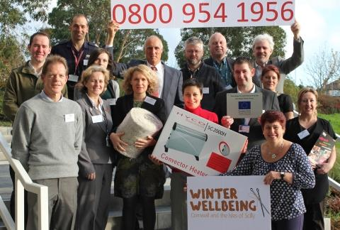 Warm words of praise for Cornwall winter cold campaign