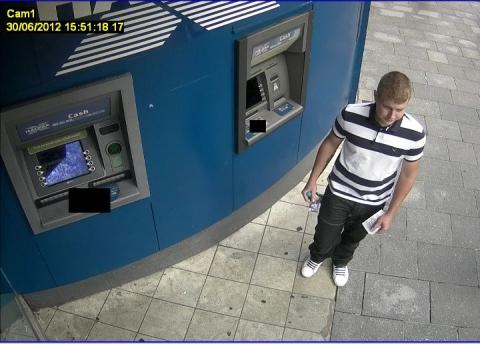 Money left in Torbay cash point: CCTV