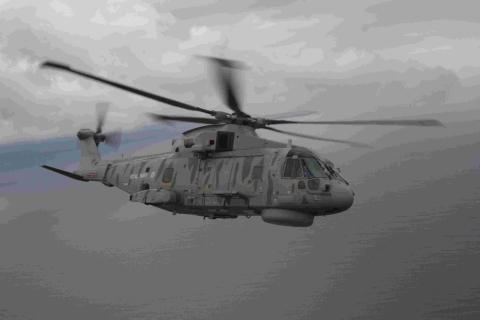 Culdrose choppers on sub hunt exercises