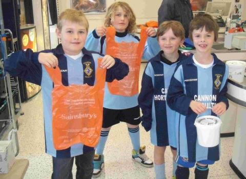 Culdrose youth footballers pack bags for new kit