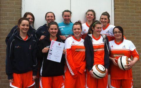 Bridgwater College footballers crowned five-a-side champions