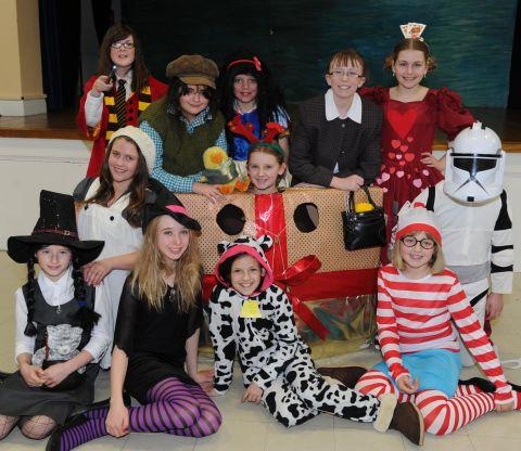 Dressing up for World Book Day at Swanmead