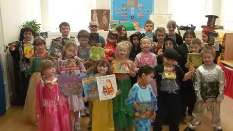 World Book Day fun at Winsham