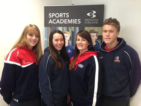 Bridgwater College quartet picked for national colleges side