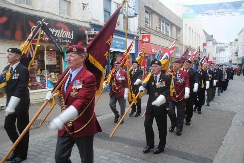 St Nazaire parade and service: PICTURE GALLERY