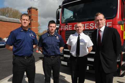 Jeremy Browne joins Somerset cricketers in opposing Taunton Fire Station cuts