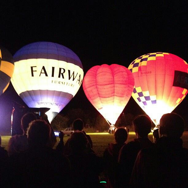 Mid Devon charities boosted by balloon festival