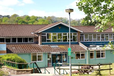 This is The West Country: DULVERTON Middle School. PHOTO: Steve Guscott.