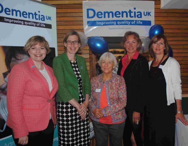 Mystery benefactor and hard work leads to first year success for dementia charity fundraisers