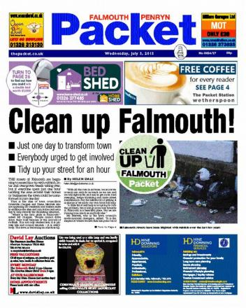 Packet newspapers preview - OUT EVERY WEDNESDAY